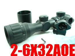 China S22 <b>2</b>-<b>6x32 Aoe</b> R&G Illuminated Range Finder Rifle Scope ...