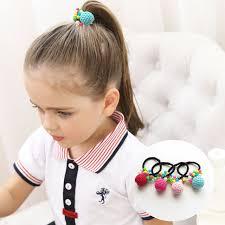 <b>New Fashion</b> Hand Made Colorful Bead Cherry Elastic Hair Bands ...