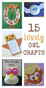 ideas kids learn owl