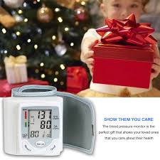 Automatic Blood Pressure Monitor Upper <b>Arm</b> Pulse Gauge Meter ...