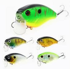 <b>1PCS</b> Fishing Lures Bass <b>Crankbait Plastic</b> Hard Floating Wobbler ...
