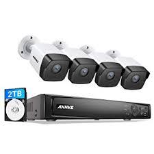 ANNKE 5MP PoE Home Security Camera System H ... - Amazon.com