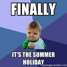 Finally It's the summer Holiday - Success Kid | Meme Generator via Relatably.com