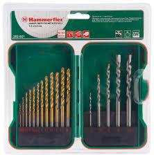 <b>Набор сверл Hammer</b> 202-921 DR set No21, 17 шт. — купить по ...