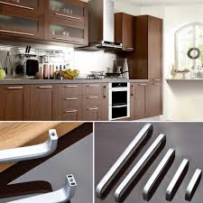 Wardrobe Handle 5 Lengths Solid/Hollow Space Aluminum handle ...