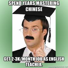Chinese meme - Spend years mastering Chinese... - Study More Chinese via Relatably.com