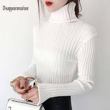 Women's Fashion <b>White</b> Black Grey <b>Ribbed</b> Cashmere Sweater ...