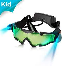 AGM <b>Adjustable Night Vision</b> 25 Feet Goggles with Flip-out Lights ...