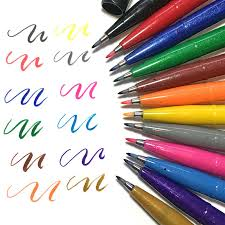 Фломастеры-<b>кисти Pentel Brush Sign</b> Pen