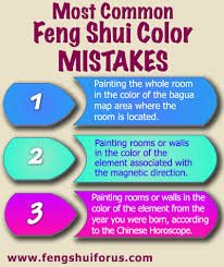 common feng shui color mistakes apply feng shui colour