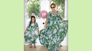 Beyonce and Blue Ivy do Mother