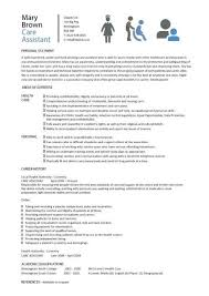 resume  personal narrative essay sample writing a expository  resume care assistant cv template job description cv example resume with resume for job application