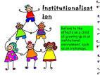 institutionalise