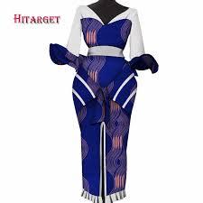 <b>Hitarget 2019 New African</b> women dashiki Sexy Dresses for Women ...