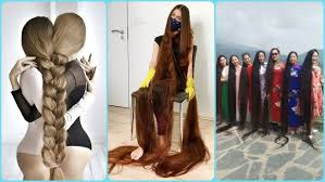 Real Life Rapunzels Extremely Very <b>Long Hair Girls</b>! Amazing hair ...