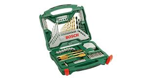 <b>Bosch X</b>-<b>Line</b> Titanium Set, <b>70</b> Pieces: Buy Online at Best Price in ...