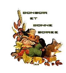 Résultats de recherche d'images pour «gif bonsoir automne»