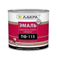 <b>Эмаль Лакра ПФ</b>-<b>115</b> белая <b>матовая</b> 3 кг, цена - купить в ...