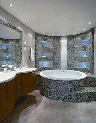 white towel bathroom modern gray feature