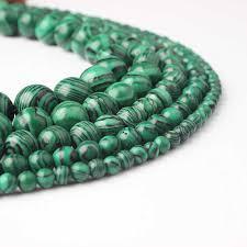 <b>LanLi 6/8</b>/10/12mm Green Agates beads <b>fashion Natural</b> stone ...
