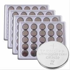 10Pcs/2card Bateria CR2032 3V Lithium Button Battery BR2032 ...