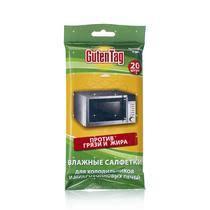 <b>Влажные салфетки Guten</b> Tag для холодильников и ...
