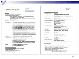 Breakupus Marvellous Example Of A Written Resume Free Cv Writing     medical