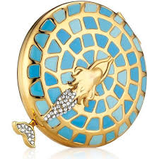 <b>Estée Lauder Lady</b> Of The Sea Powder Compact ($265) liked on ...