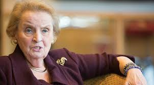 Image result for Albright and the Indispensable nation
