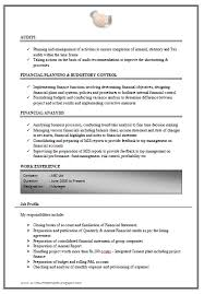 over 10000 cv and resume samples excellent link for excellent work experience chartered accountant resume sample doc