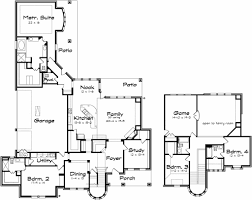 Two Story Large Family Home Plans With Game Room   HomesCorner ComTwo Story Large Family Home Plans With Game Room