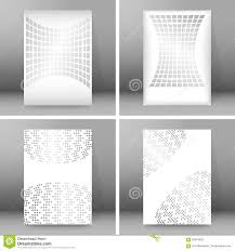 set of glow theme brochure cover page a format stock vector set of glow theme brochure cover page a4 format07