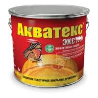 «Защитное <b>текстурное покрытие</b> древесины <b>Акватекс ЭКСТРА</b> ...
