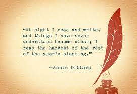 Annie Dillard Quotes. QuotesGram via Relatably.com