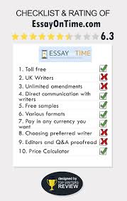 essayontimecom prices discounts and testimonials review of essayontime by topwritersreview