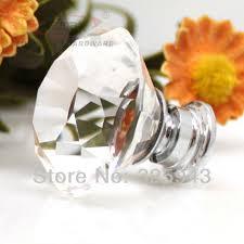 10pcs 40mm glass crystal door knobs and handles kitchen cabinet dresser drawer pulls furniture bedroom bedroom furniture pulls