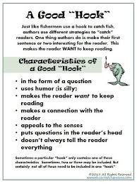 images about school writing  grabber leads  on pinterest    hooks  leads   amp  grabbers