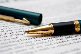 Szövegírás klasszikusoknak, géppel írva, kézzel javítva