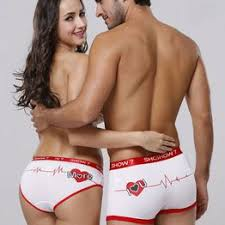 Sexy Couple <b>Underwear Brand</b> Design Heart Printed <b>Bamboo</b> Fiber ...