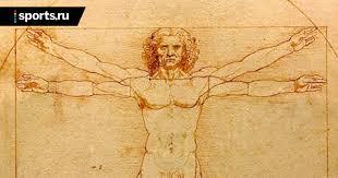 Босс судей Италии объясняет игру рукой по рисунку <b>Да Винчи</b> ...