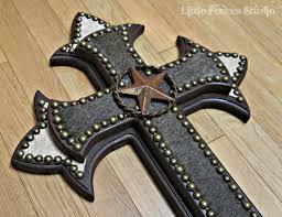 iron wall cross love: wood wall cross painted wood cross decorative