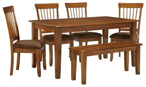 ashley furniture kitchen tables: ashley furniture berringer  x  table with  chairs amp bench item number
