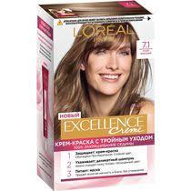 <b>Стойкая крем-краска для</b> волос L'Oreal Paris Excellence русый ...