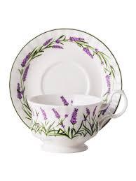Чайная пара для завтрака Лаванда Прованса 400мл <b>Top Art</b> ...