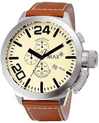 Gents Max XL Watches Classic Collection 52mm ... - Amazon.com