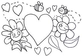 Small Picture Printable Valentines Day Coloring Pages Sheets For Teachers