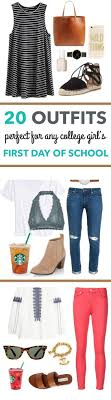 17 best ideas about first day of college college 20 first day of school outfit ideas for college girls