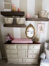 baby room decor baby girl nursery wall love the baskets for extra storage and the deco