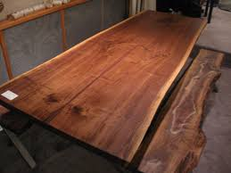 extra long extending table industrial dining tables walnut live edge slab x base table by raffaele colone