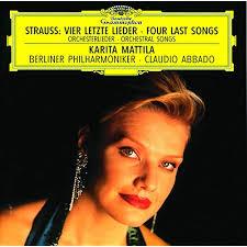 <b>Strauss</b>, R.: <b>Vier letzte</b> Lieder; Orchesterlieder by Karita Mattila ...